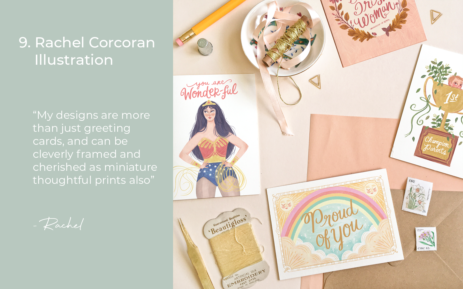 Rachel Corcoran Illustration Gifts for New Mums Lulu and Belle