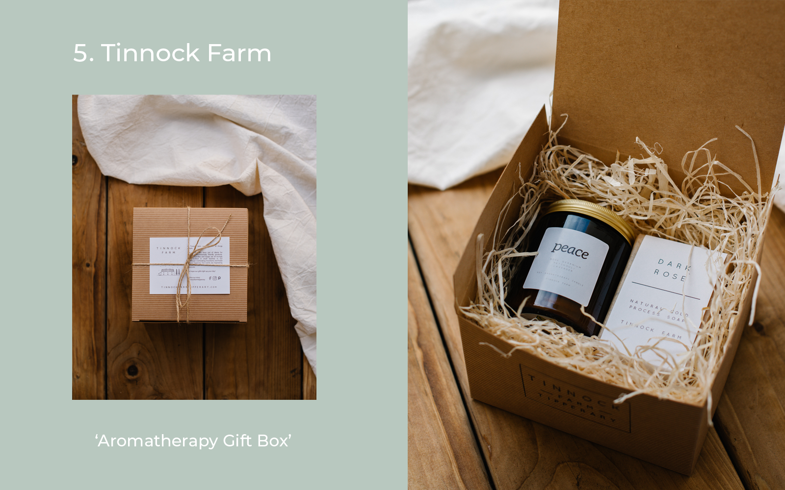 Tinnock Farm Aromatherapy  Gifts for New Mums Lulu and Belle