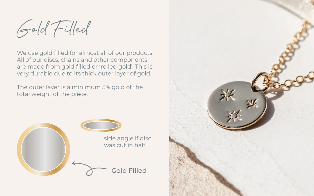What is gold filled jewelry