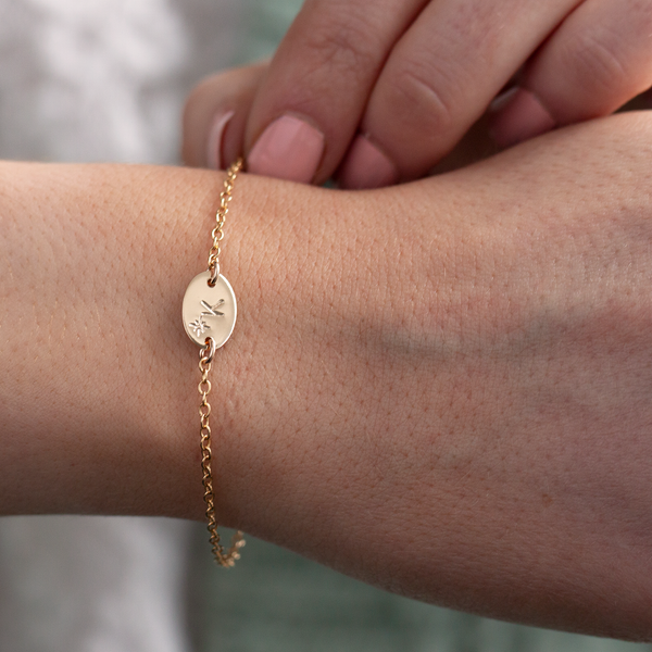 guiding star initial bracelet Lulu and belle