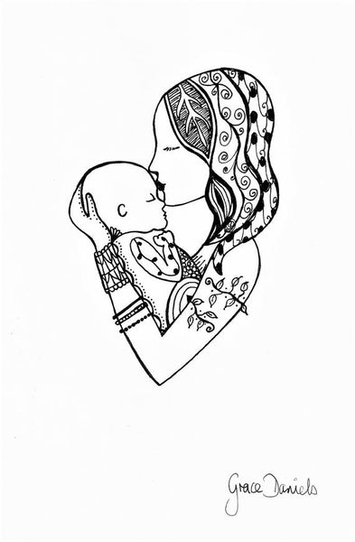 mother and baby image