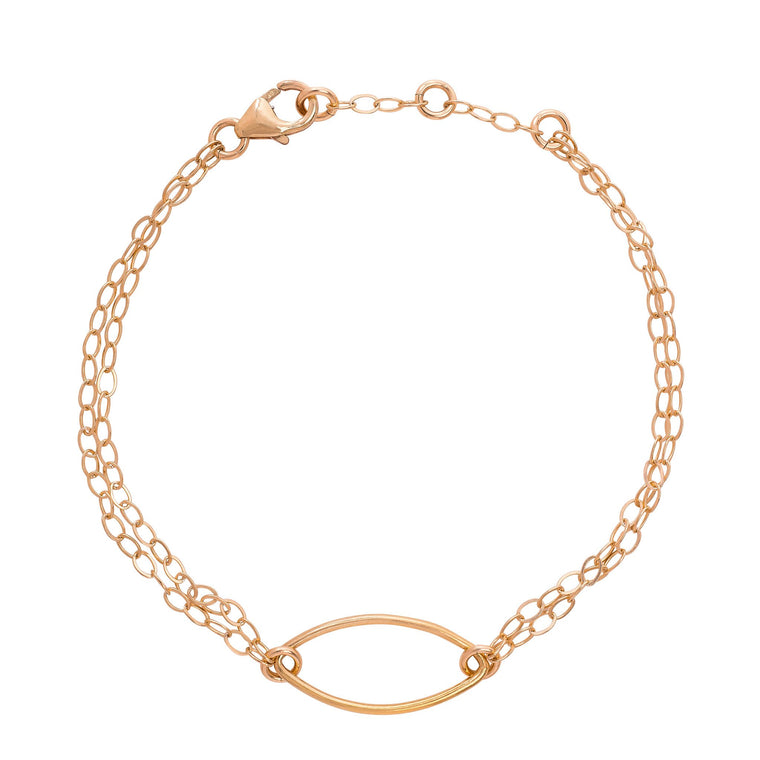 'Set Away' Bracelet Gold