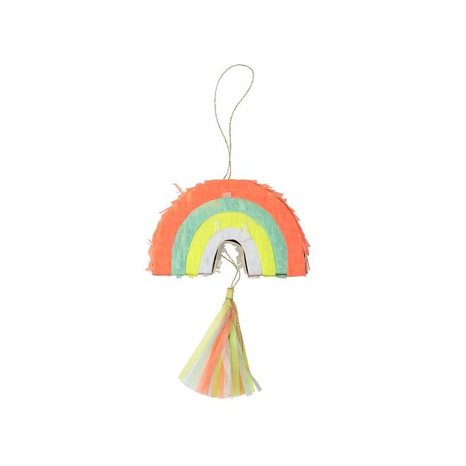 rainbow piñata favors