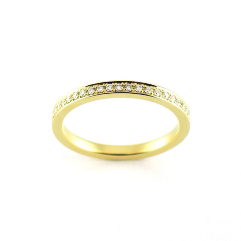 Diamond Pavé Eternity Band