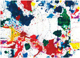 Sam Francis Wrapping Paper 1980