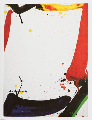 Sam Francis Journal - The Space at the Center of These Paintings is Reserved for You
