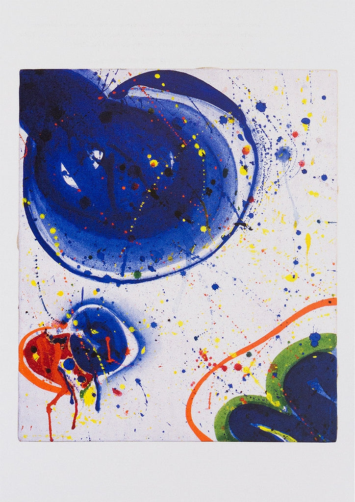 "Sam Francis postcard: ""As for Appearance IX"""