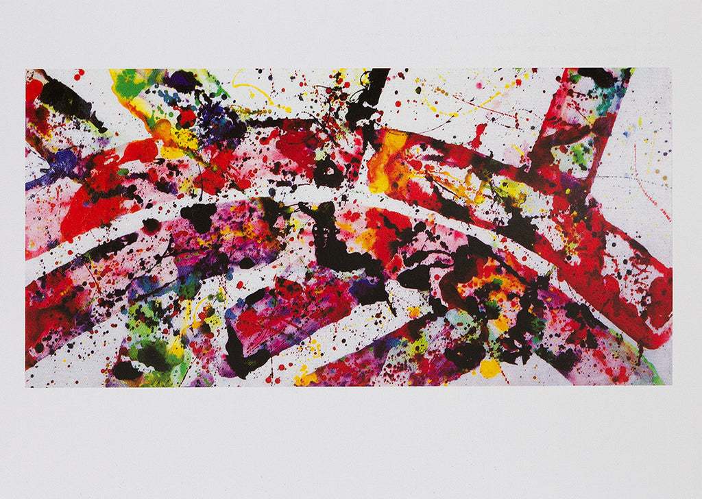 "Sam Francis postcard: ""Untitled"""