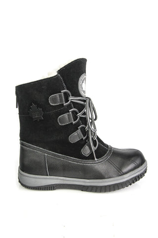 Daniel Winter Boots in Black