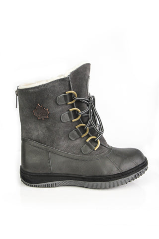 Daniel Winter Boots in Grey