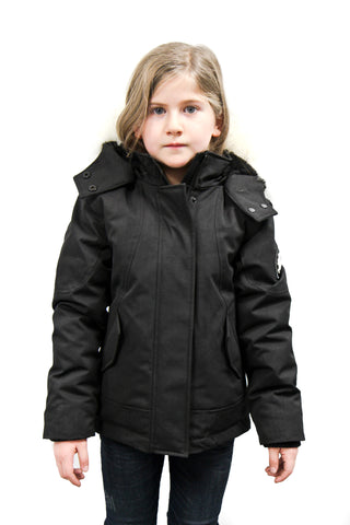Emma Jr Winter Jacket in Black for kids