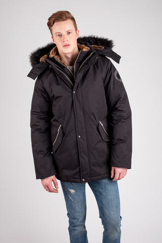 LUKE T Luxury Down Jacket
