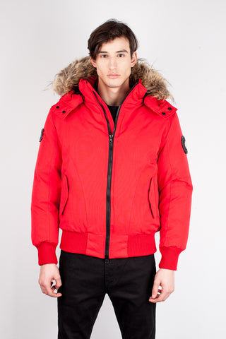 Enzo Winter Jacket  in Red