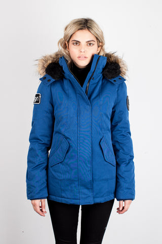 Emma Winter Jacket in Blue