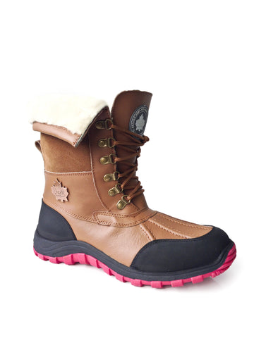 Rocco Winter Boots in Caramel