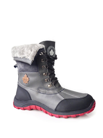 Rocco Winter Boots in Grey