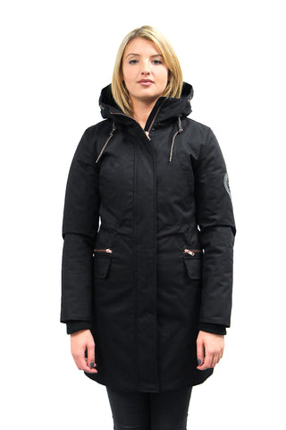 Shawna Winter Jacket  in Black
