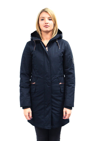 Shawna Winter Jacket  in Navy