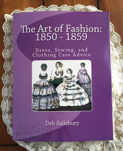 The Art of Fashion: 1850-1859 Book