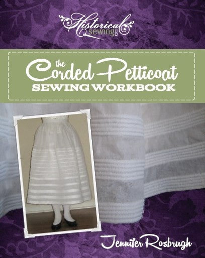 Victorian Sewing Patterns- Dress, Blouse, Hat, Coat, Mens Corded Petticoat Sewing Workbook $15.00 AT vintagedancer.com