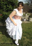 Truly Victorian TV101 Petticoat with Wire Bustle Pattern