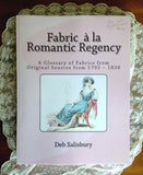 Fabric a la Romantic Regency Book