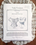 Truly Victorian TV107 Mid-Victorian Corset Covers Pattern