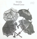 Truly Victorian TV570 Parasol Cover Pattern