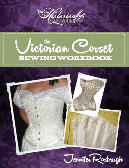 The Victorian Corset Sewing Workbook Title Digital PDF Download Printed