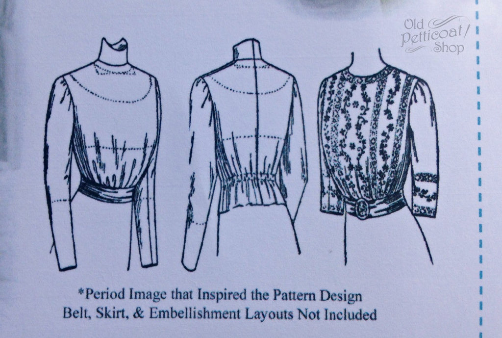 Edwardian Blouse Pattern
