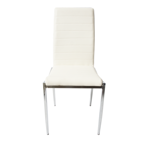 Julian Side Chair - White