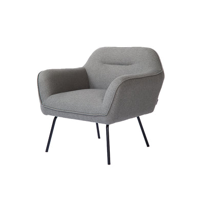 Runa Lounge Chair - Dark Grey