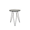 Solo Accent Table - Black Marble
