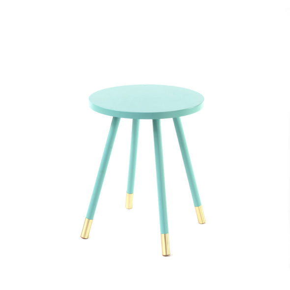 Ridley Accent Table - Turquoise