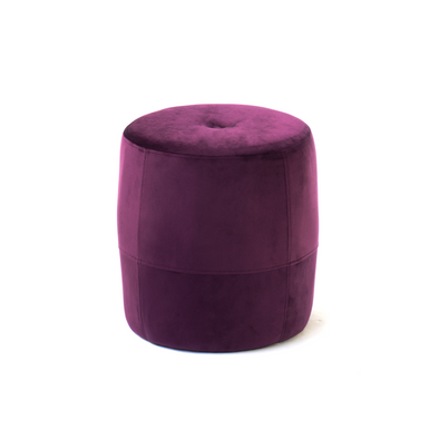 Galya Foot Stool - Velour Sangaria