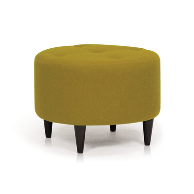 Parry Foot Stool - Velour Olive