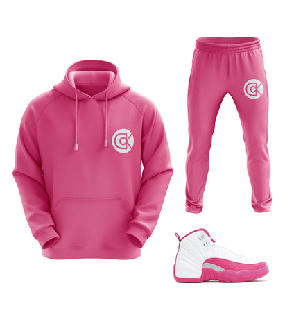 "Original Detroit Kicks Hoody + Jogger ""Dynamic Pink"" 2017"