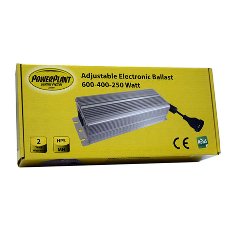 PowerPlant 600-400-250w Electronic Ballast