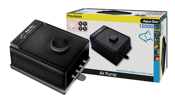 12000 Precision Air pump 4 Outlet 200 L/Hr X 4