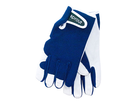 "Ladies Gloves - Navy Blue  ""Soft on the skin"""