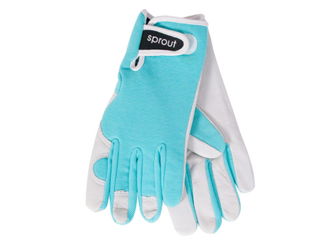 "Ladies Garden Gloves - Sea Spray  ""Soft on the Skin"""