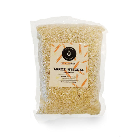 Arroz integral 500 grs