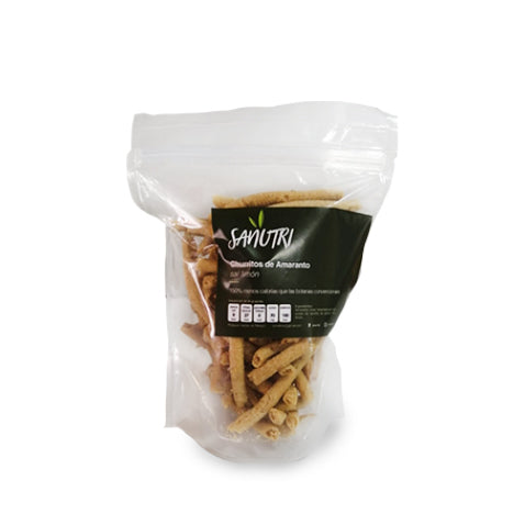 Churritos de Amaranto con Limon 150 gr.