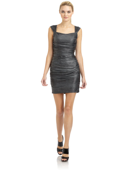 Aidan Mattox Grey Women's Dress