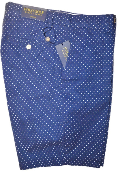 Polo Ralph Lauren Men's Navy Polka Dot Shorts