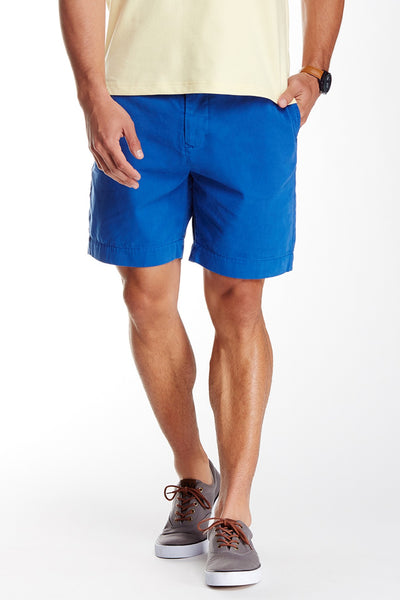 TailorByrd Men's Royal Blue Cotton Shorts