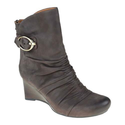 Earthies Women's Chelsea Brown Vintage Leather Boots