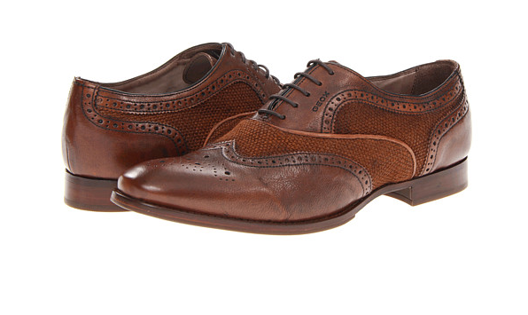 Geox U Connor 2 Wingtip Vintage Oxfords