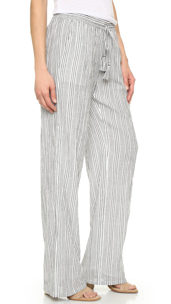Joie Women's Porcelain/Caviar Maltese Cotton Pants