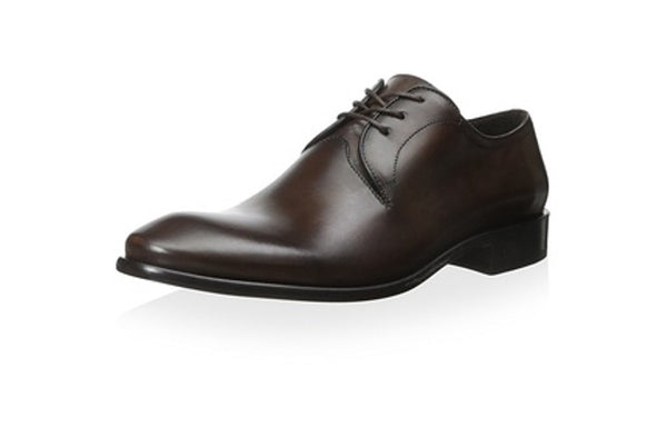 John Varvatos Men's Dark Brown Leather Oxfords